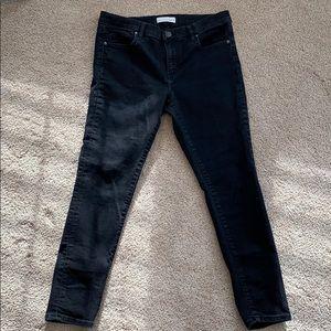 Black Skinny Jeans, Loft size 30/10, petite